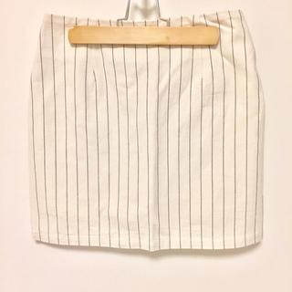 マーキュリーデュオ(MERCURYDUO)のmercuryduo ♡ ストライプスカート(ミニスカート)