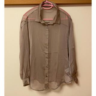 GRL - シアーシャツ