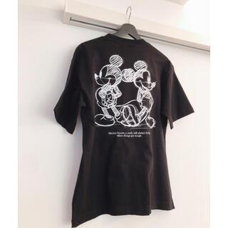 GU UNDERCOVER コラボ Tシャツ ミッキー 公式通販購入品
