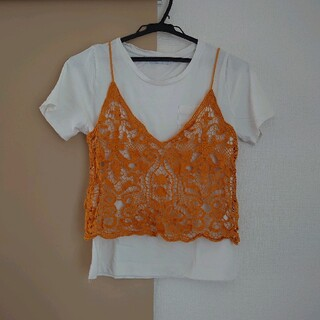 レディース 2点セット M 半袖(Tシャツ(半袖/袖なし))