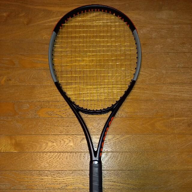 wilson(ウィルソン)のwilson burn100s v4.0 G2 バーン100s v4.0 スポーツ/アウトドアのテニス(ラケット)の商品写真