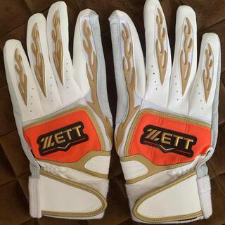 ゼット(ZETT)のZETTプロステイタス バッティンググローブ(グローブ)