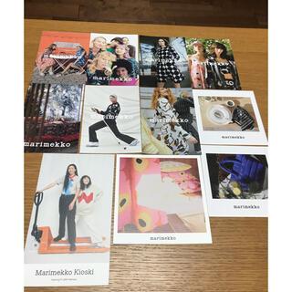 マリメッコ(marimekko)の新品 未使用 マリメッコ   ポストカード 11枚 セット 北欧(写真/ポストカード)