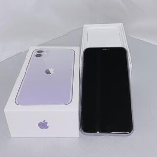 Apple - 【バッテリー90%】iPhone11 128GB 本体 紫 パープル