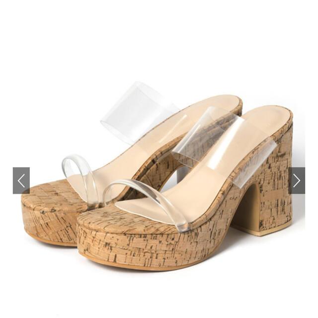 GRL(グレイル)のGRL クリアサンダル レディースの靴/シューズ(サンダル)の商品写真