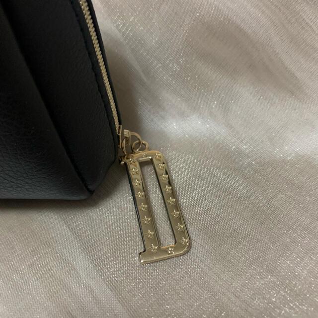 ディオール クリスマス限定 ノベルティ スクエア ポーチ ブラック箱付き レディースのファッション小物(ポーチ)の商品写真
