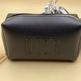 Christian Dior - ディオール クリスマス限定 ノベルティ スクエア ポーチ ブラック