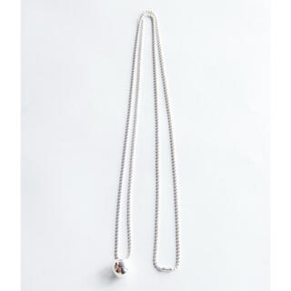 BEAUTY&YOUTH UNITED ARROWS - R.ALAGAN  BALL NECKLACE   silver