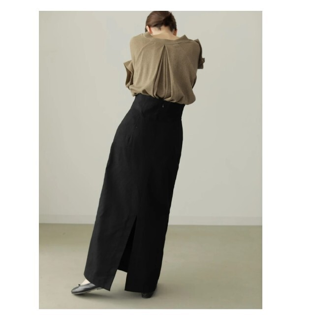 TODAYFUL(トゥデイフル)のlouren highwaist pencil skirt レディースのスカート(ロングスカート)の商品写真