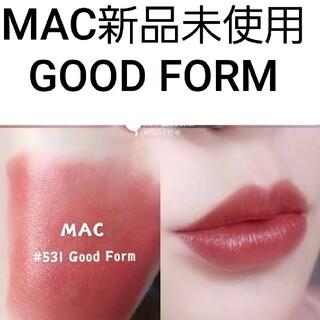 MAC - 新品 GOOD FORM MAC