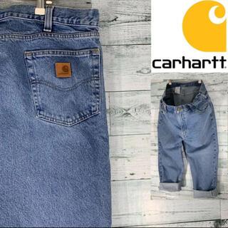 carhartt - 《希少サイズ》激レア Carhartt カーハート バギーパンツ デニムパンツ