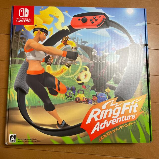 Nintendo Switch(ニンテンドースイッチ)のリングフィット アドベンチャー Switch 中古品 エンタメ/ホビーのゲームソフト/ゲーム機本体(家庭用ゲームソフト)の商品写真