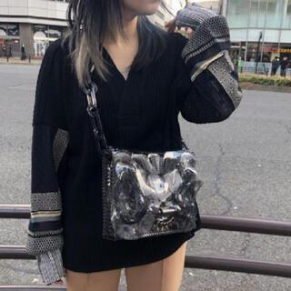 mame - Mame Kurogouchi マメクロゴウチ サマーニット Vネック セーター