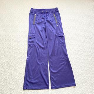 アディダス(adidas)のアディダス  adidas トレーニング ダンス パンツ ズボン 紫 パープル(その他)