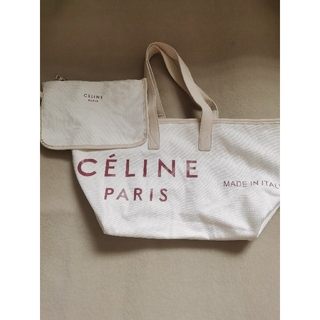 celine - CELINE メイドイントート テキスタイル ミディアム