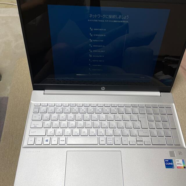 HP(ヒューレットパッカード)の高性能HP Pavilion 15 16GB corei7-1165G 容量1T スマホ/家電/カメラのPC/タブレット(ノートPC)の商品写真