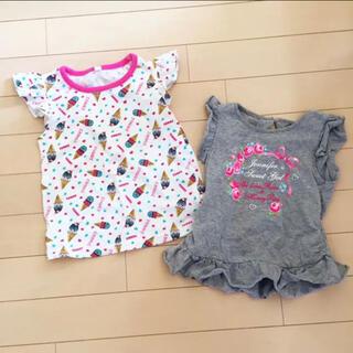 motherways - 女の子 Tシャツ2枚セット