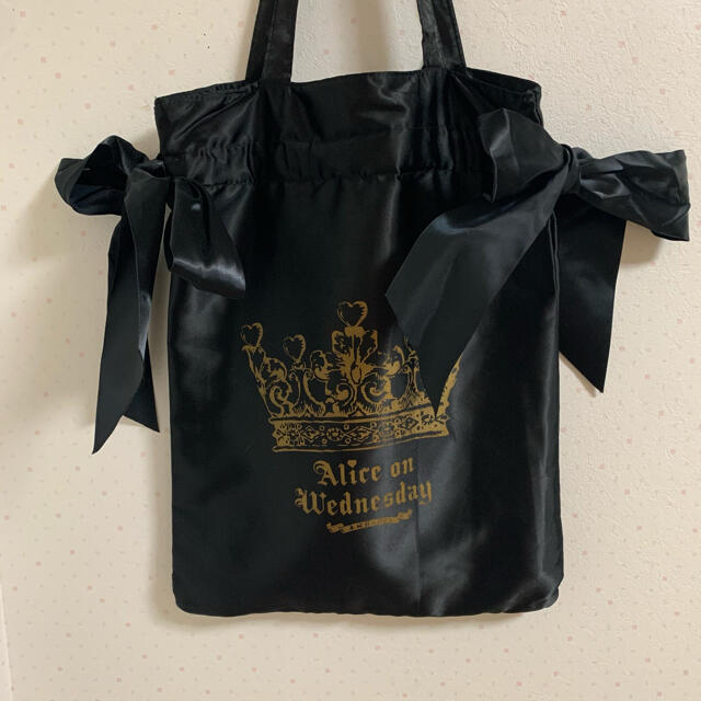 Maison de FLEUR(メゾンドフルール)の水曜日のアリス トートバッグ レディースのバッグ(トートバッグ)の商品写真