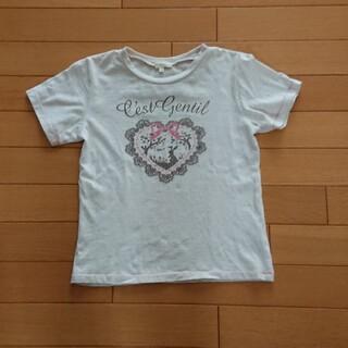 ハッシュアッシュ(HusHush)のHUSHUSH 140cm ロゴ Tシャツ(Tシャツ/カットソー)