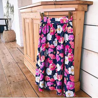 アンドクチュール(And Couture)のりんりん様専用 アンドクチュール 花柄スカート(ひざ丈スカート)