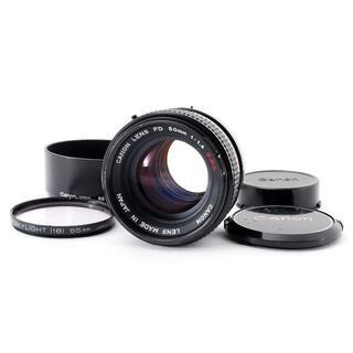 キヤノン(Canon)のCanon FD 50mm F/1.4 S.S.C. SSC MF 単焦点レンズ(レンズ(単焦点))