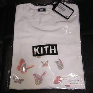 キース(KEITH)の【Lサイズ】KITH boxlogo tee キス ボックスロゴ Tシャツ 蝶々(Tシャツ/カットソー(半袖/袖なし))