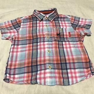 ダブルビー(DOUBLE.B)のダブルB★シャツ90cm(Tシャツ/カットソー)