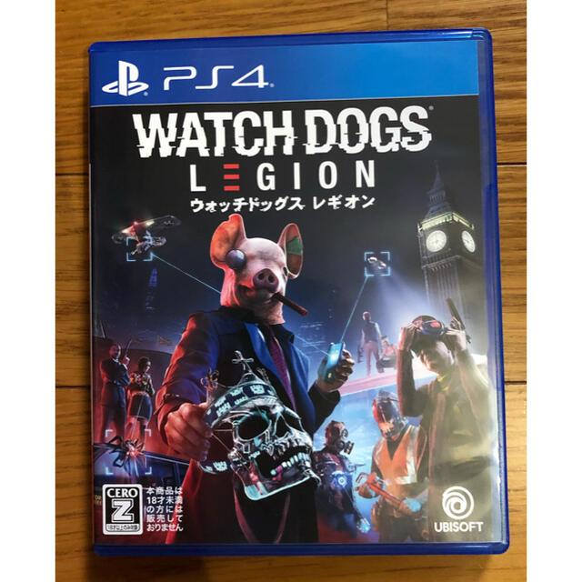 PlayStation4(プレイステーション4)の【未使用に近い】ウォッチドックス レギオン WATCH DOGS LEGION エンタメ/ホビーのゲームソフト/ゲーム機本体(家庭用ゲームソフト)の商品写真
