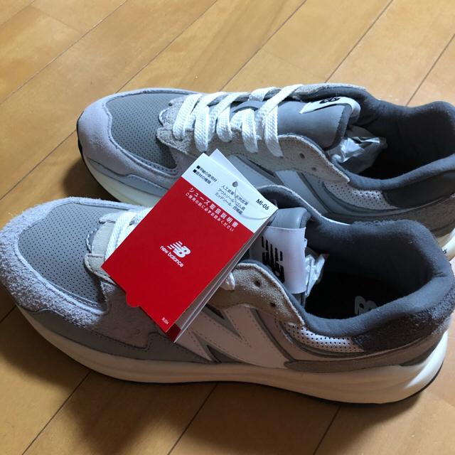 New Balance(ニューバランス)の27 NEW BALANCE M5740TA グレー メンズの靴/シューズ(スニーカー)の商品写真