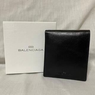 バレンシアガ(Balenciaga)の新品 本物 正規品 バレンシアガ メンズ レザー 財布 折り財布 黒(折り財布)
