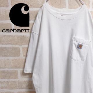 carhartt - carhartt カーハート Tシャツ 半袖 白T ポケットTシャツ