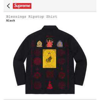 Supreme - Supreme Blessings Ripstop Shirt Black S