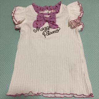 メゾピアノ(mezzo piano)の袖フリルトップス120(Tシャツ/カットソー)
