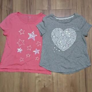 GAP Kids - GAP 120 Tシャツ 2枚セット 女の子
