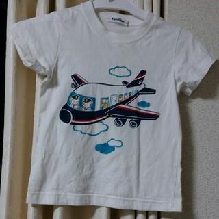 ファミリア(familiar)の110cmfamiliar飛行機Tシャツファミリア(Tシャツ/カットソー)