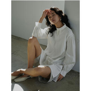 Ameri VINTAGE - 【大人気商品】VEST DOCKING SHIRT