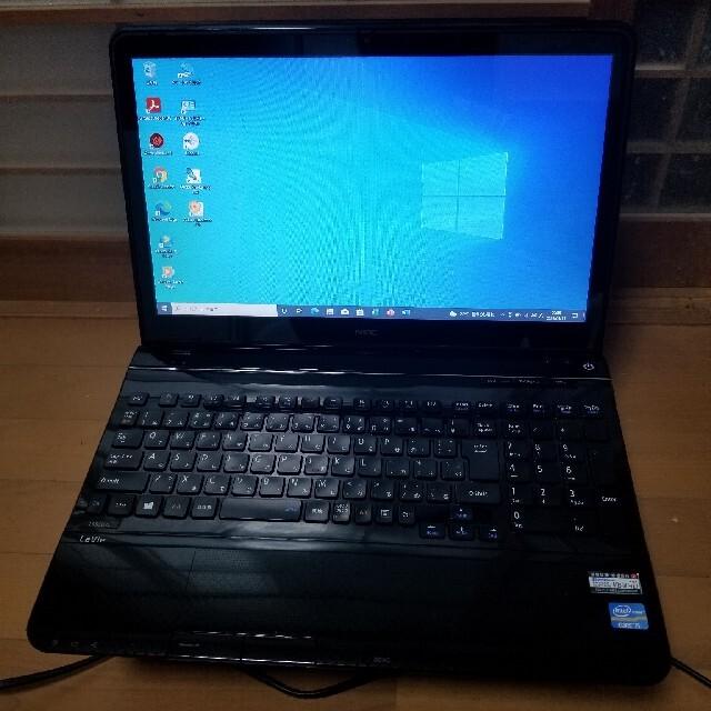 NEC(エヌイーシー)のハイスペック ノートパソコン NEC LS550/L 新品同様バッテリー スマホ/家電/カメラのPC/タブレット(ノートPC)の商品写真