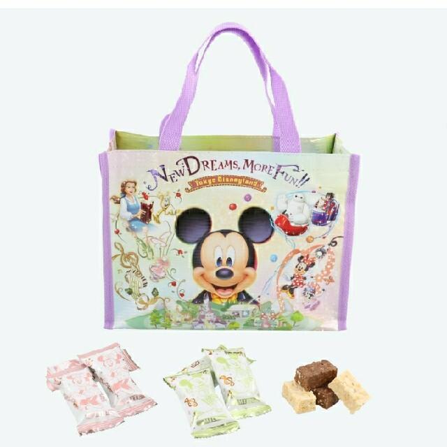 Disney(ディズニー)の東京ディズニーリゾート限定品 お菓子 チョコレートバッグ 新エリア ミッキー エンタメ/ホビーのおもちゃ/ぬいぐるみ(キャラクターグッズ)の商品写真