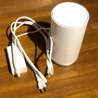 ファーウェイ(HUAWEI)のau Speed Wi-Fi HOME L01s HWS32MWA(PC周辺機器)