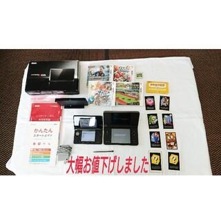 ニンテンドー3DS - ニンテンドー3DS&DLL本体 3DSソフト5本セット