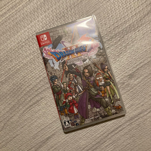 Nintendo Switch(ニンテンドースイッチ)のswitch ドラクエ11 エンタメ/ホビーのゲームソフト/ゲーム機本体(家庭用ゲームソフト)の商品写真