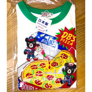 ダブルビー(DOUBLE.B)の新品タグ付き ミキハウス ダブルB B君ピザ 半袖Tシャツ 110(Tシャツ/カットソー)