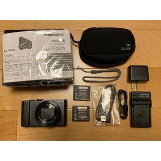 パナソニック(Panasonic)の春助様専用 Panasonic LUMIX DMC-LX9-K(コンパクトデジタルカメラ)