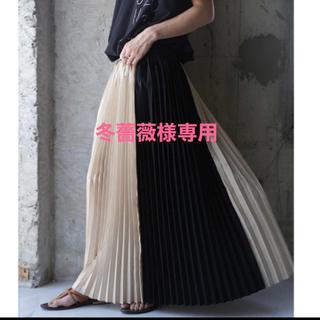 antiqua - プリーツスカート