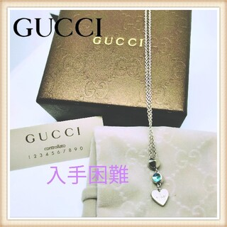 Gucci - 人気 グッチ ネックレス アクセサリー メンズ レディース ハート gucci