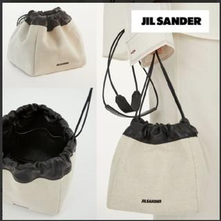 ジルサンダー(Jil Sander)の新品 ジルサンダー ドローストリングバッグ ショルダーバッグ(ショルダーバッグ)
