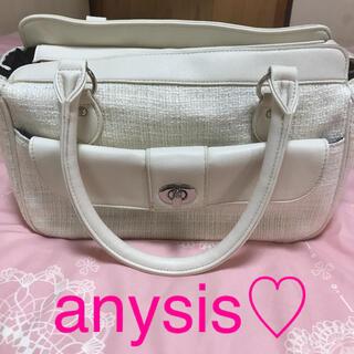 エニィスィス(anySiS)のanysis ツイード ハンドバッグ【送料込み】(ハンドバッグ)