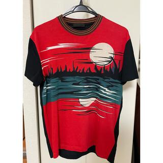 PRADA - プラダ 2014SS サンセット柄プリント 半袖Tシャツ S イタリア製