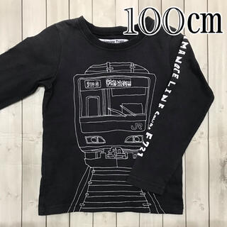 ブランシェス(Branshes)のブランシェス 山手線 ティシャツ 100㎝(Tシャツ/カットソー)