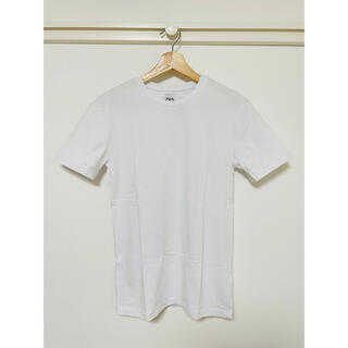 ザラ(ZARA)のZARA 白T(Tシャツ/カットソー(半袖/袖なし))